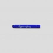 Piteira de vidro colorida - Cobalt Blue