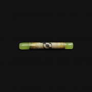 Piteira de Vidro Drop Engraved Stoned - #02
