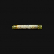 Piteira de Vidro Drop Engraved Stoned - #03