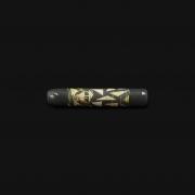 Piteira de Vidro Drop Engraved Stoned - #09