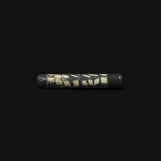 Piteira de Vidro Drop Engraved Stoned - #10