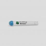 Piteira de Vidro Incalmo Color Round Azul