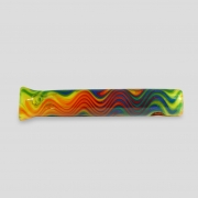 Piteira de vidro Re-wag arco-íris