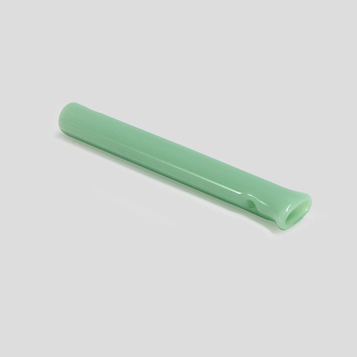 Piteira de vidro colorida Esmeralda