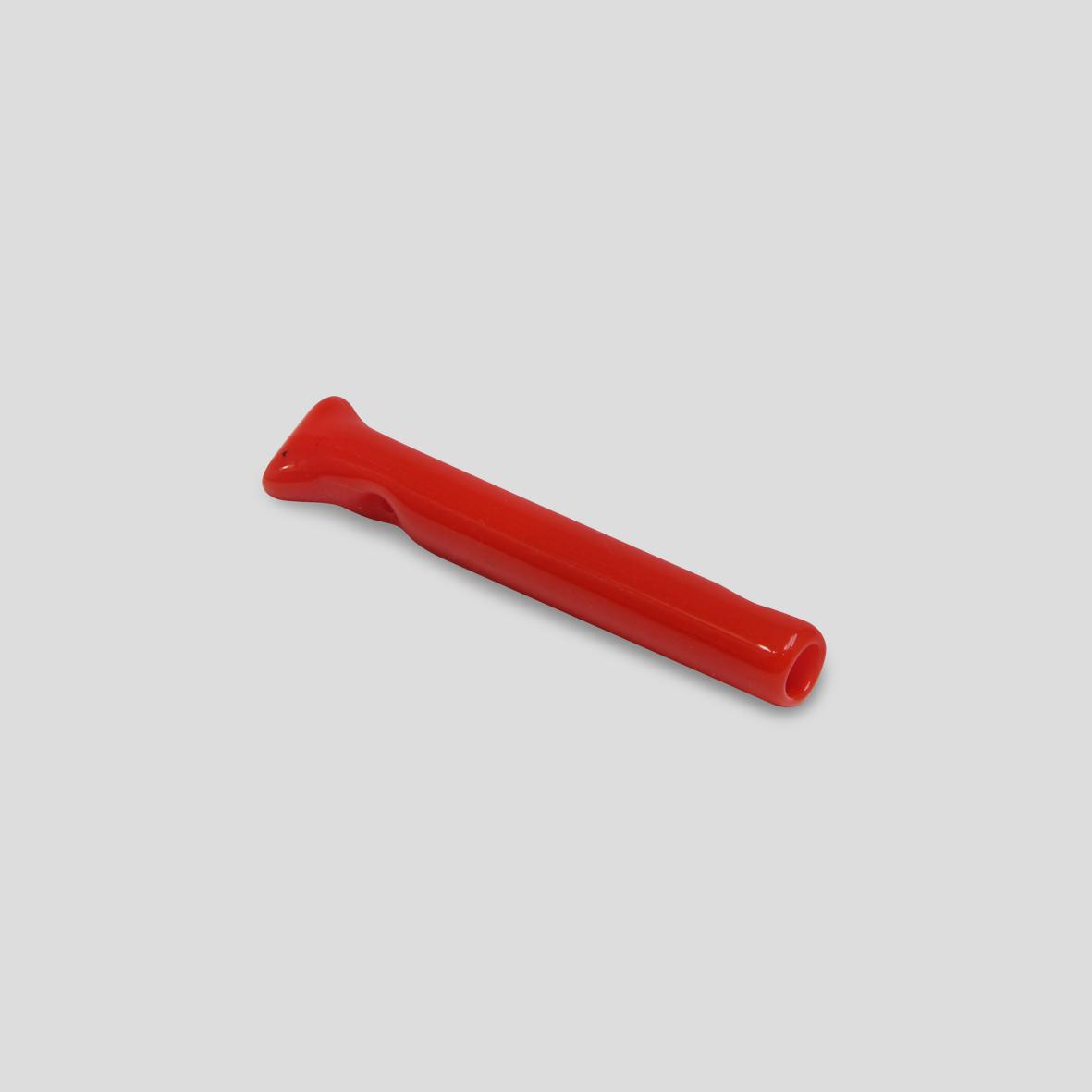 Piteira de vidro colorida - Ketchup