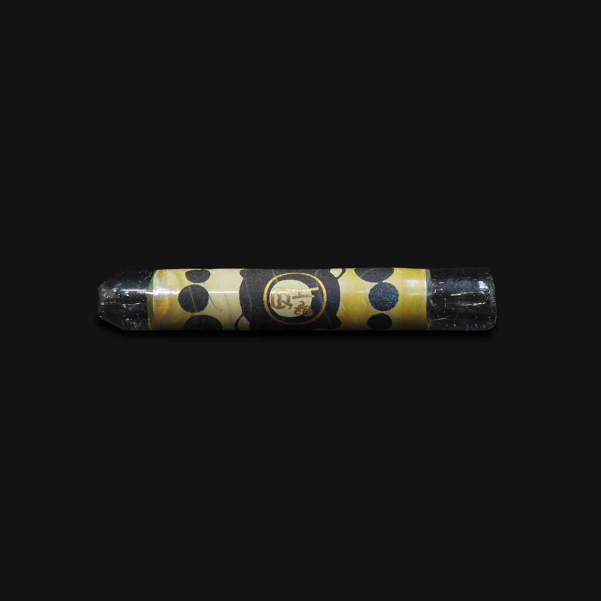 Piteira de Vidro Drop Engraved Stoned - #15
