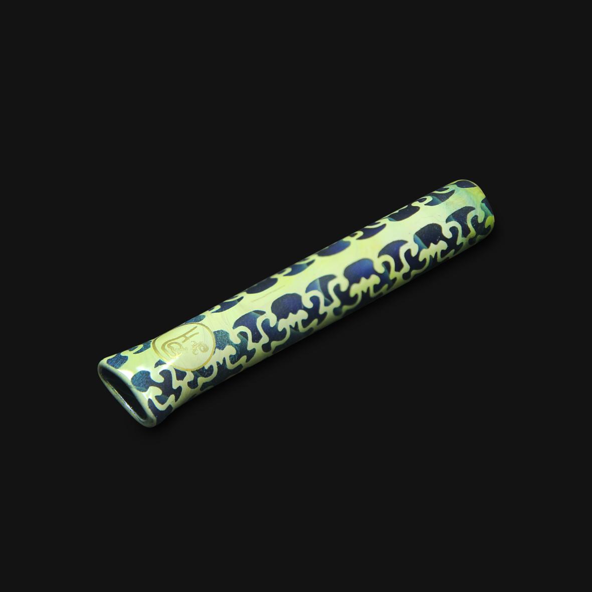 Piteira de Vidro Highblast 2 - Blue Caramel #01