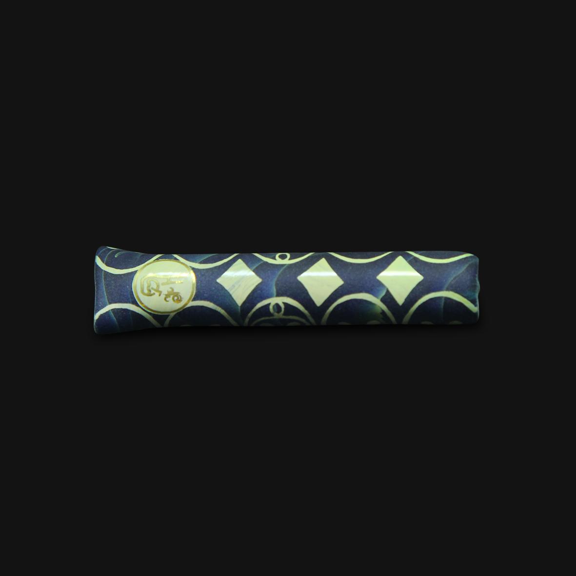 Piteira de Vidro Highblast 2 - Blue Caramel #03