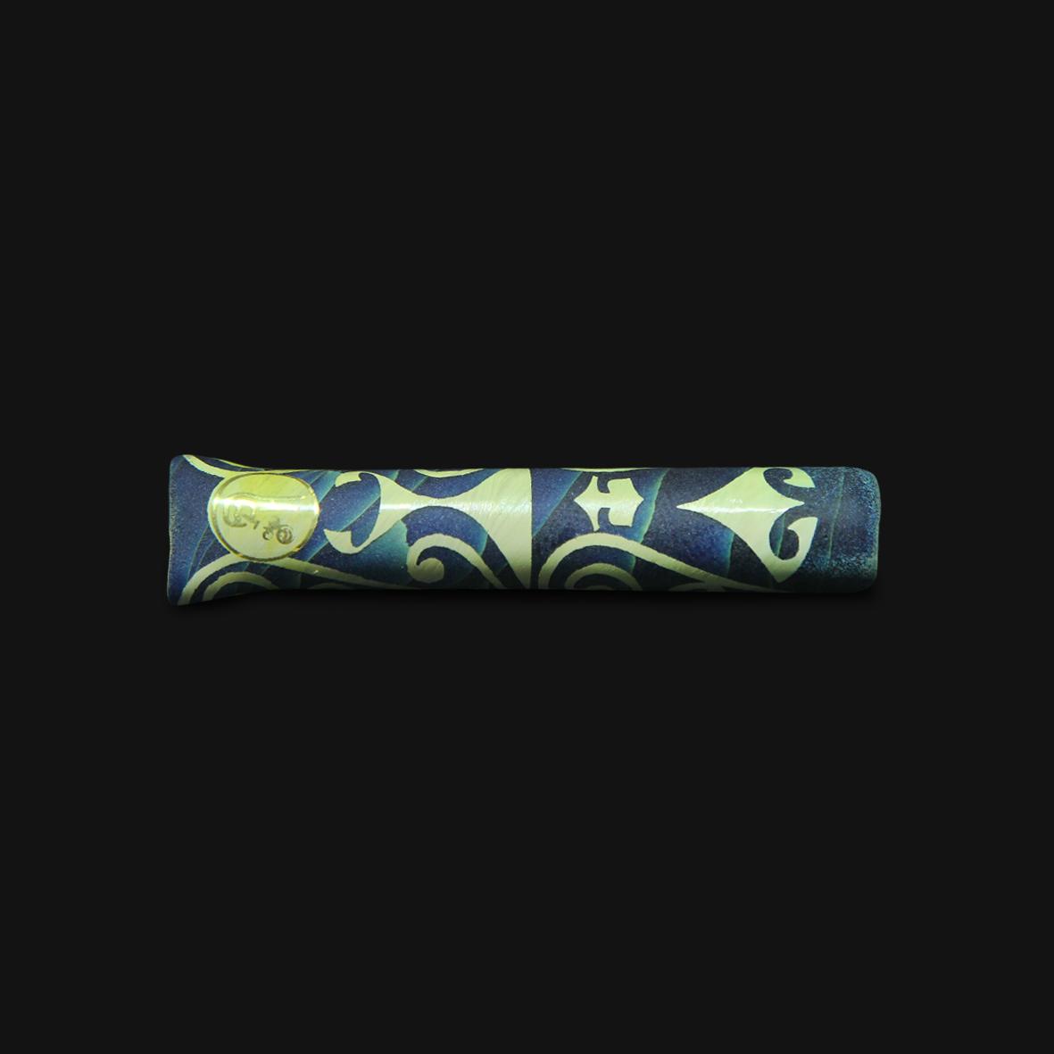 Piteira de Vidro Highblast 2 - Blue Caramel #04