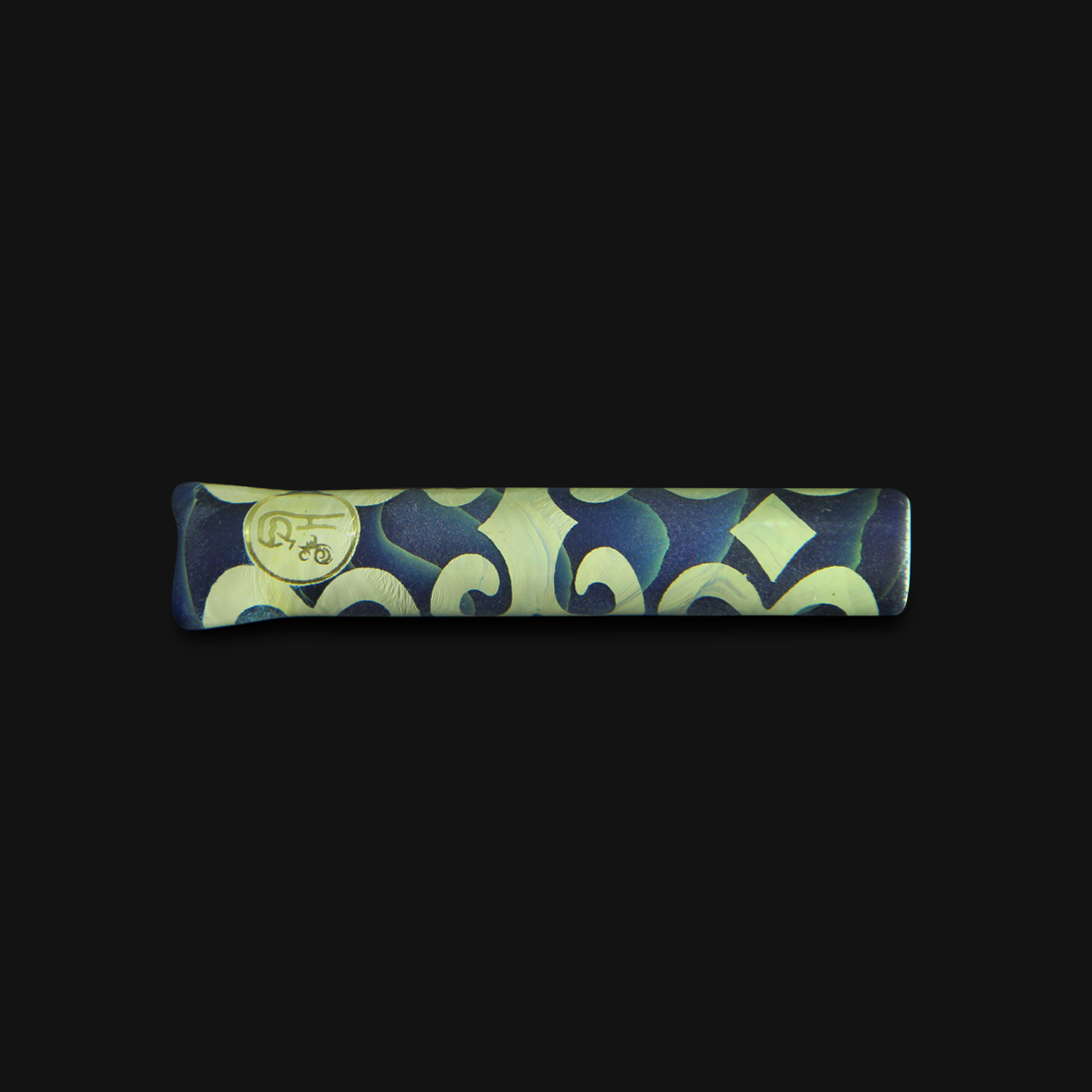 Piteira de Vidro Highblast 2 - Blue Caramel #07