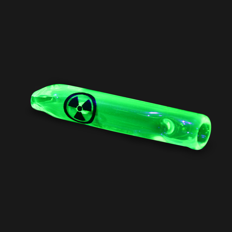 Piteira de vidro lanterna verde UV