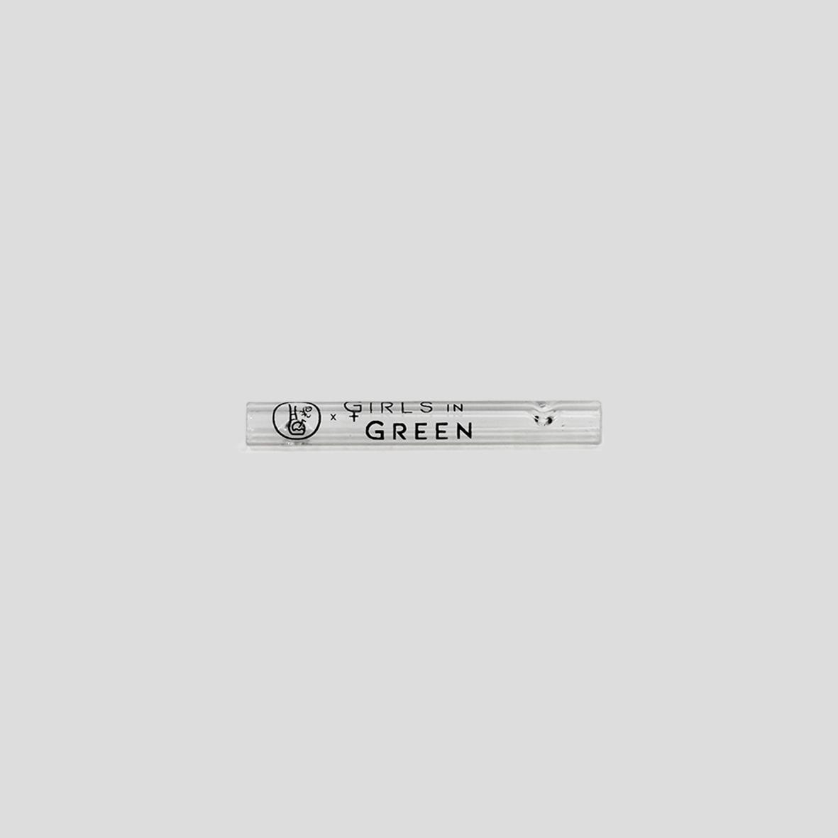 Piteira de Vidro Longa Girls In Green