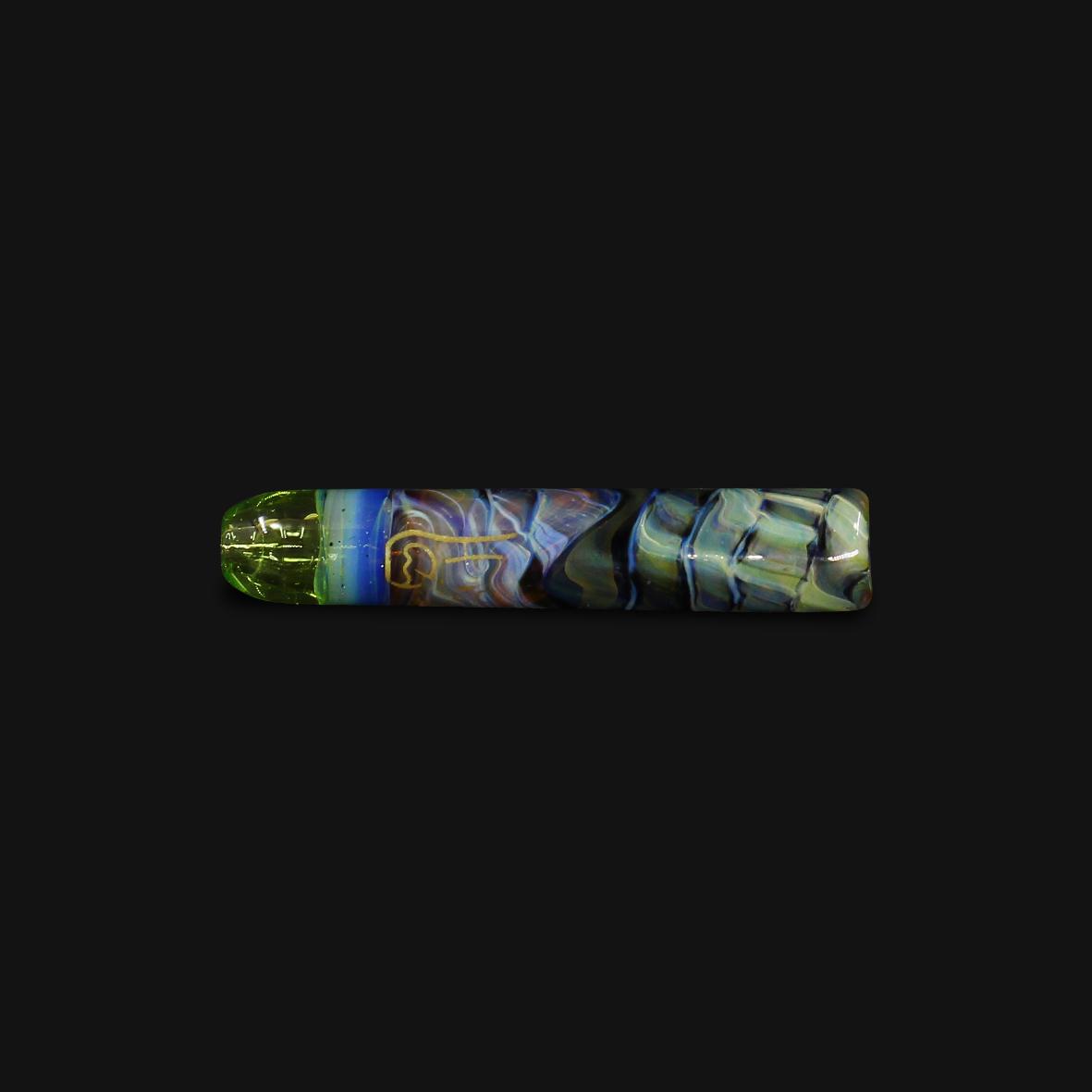 Piteira de Vidro Optical Illusion  #04