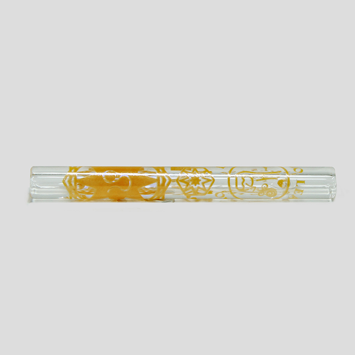 Piteira de vidro Signo Leão
