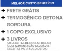 Kit 6 Meses Completo Detona Gordura