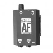 Amplificador Fone Ouvido Santo Angelo Af1 Preto uso fones de ouvido, interligação mesa de som e instrumentos