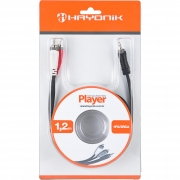 Cabo Hayonik 2Rca+P2St Player 1,2Mts