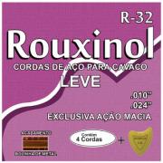 Encordoamento Cavaco Aco Rouxinol R32