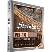 Encordoamento Violao Aco Strinberg Ws-10