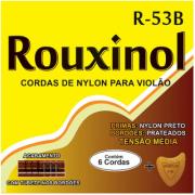 Encordoamento Violao Nailon Preto/Prata Tensao Normal R53B