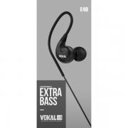 FONE OUVIDO VOKAL E40 IN EAR PROFIS.