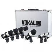 Kit Microfone Bateria Vokal Vmd7