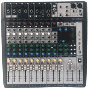 MIXER SOUNDCRAFT SIGNATURE 12 C/ EFEITOS INTEGRADOS