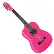 Violao Memphis Ac39K Acustico Pink