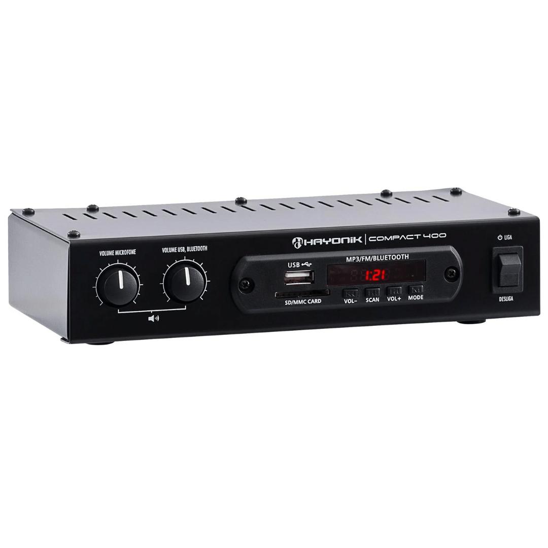 Amplificador som ambiente COMPACT400 HAYONIK