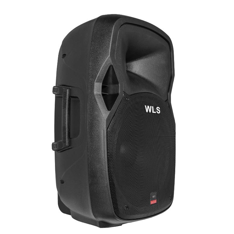 Caixa Acústica WLS15 Ativa 200W  USB, SD Card, Bluetooth