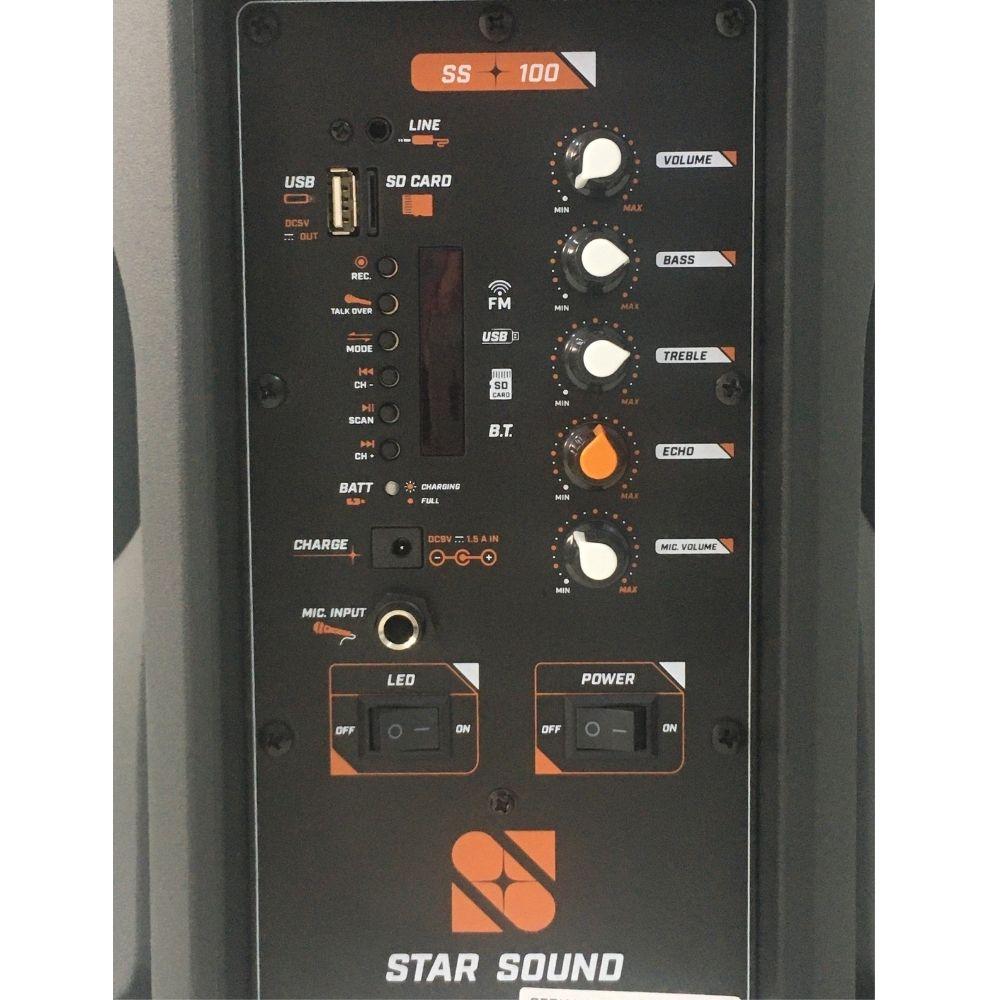 CX.ACUSTICA STAR SOUND SS-100 C/BATERIA INTERNA