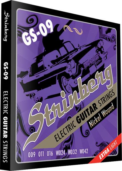 Encordoamento Guitarra Gs-09 Strinberg