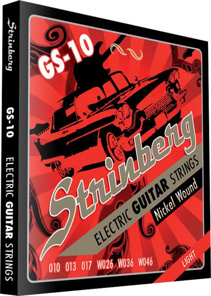 Encordoamento Guitarra Gs-10 Strinberg