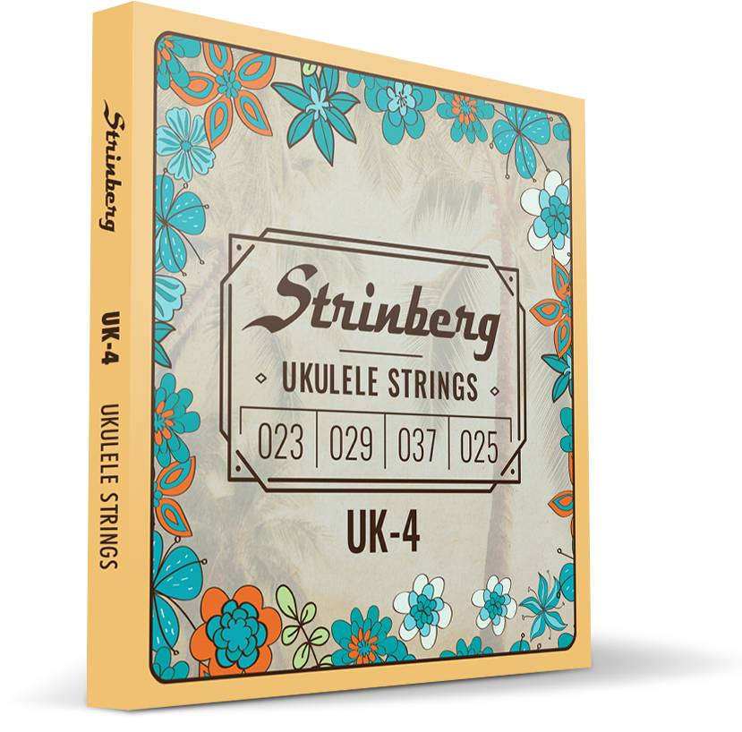 Encordoamento Ukulele Soprano Uk-04 Strinberg