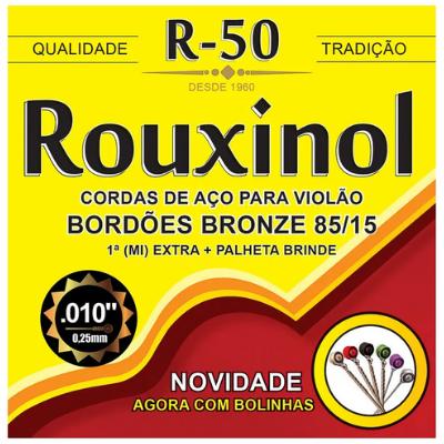 Encordoamento Violao Aco Rouxinol R50 Bolinha