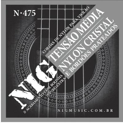 Encordoamento Violao Nylon Nig N475 Media