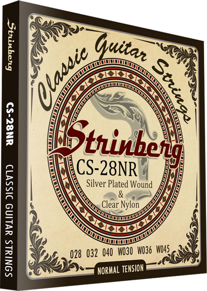 Encordoamento Violao Nylon Strinberg Cs-28Nr