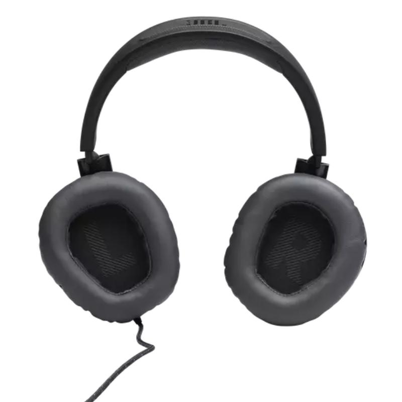 Fone Ouvido JBL Quantum 100 Headset over-ear para jogos, com fio e microfone flip-up