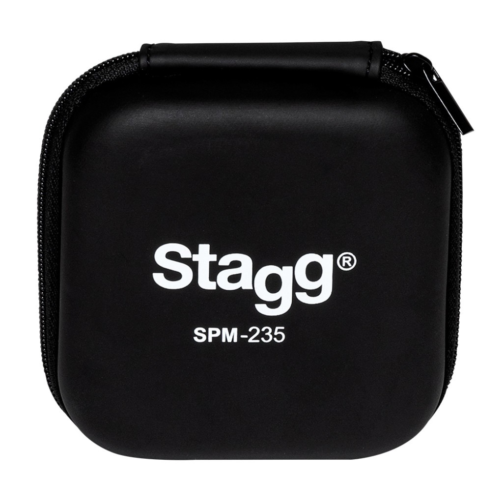 FONE OUVIDO STAGG IN-EAR SMP-235 TRANSPARENTE