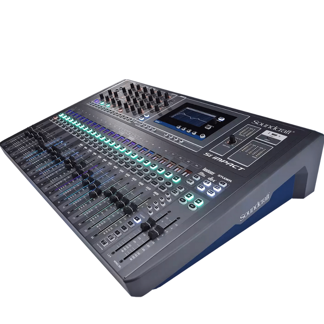 Mixer Console Digital Si Impact 32 Soundcraft