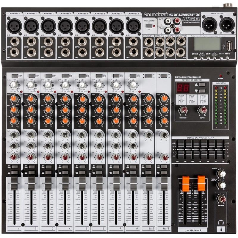 MIXER SX1202FX-USB SOUNDCRAFT