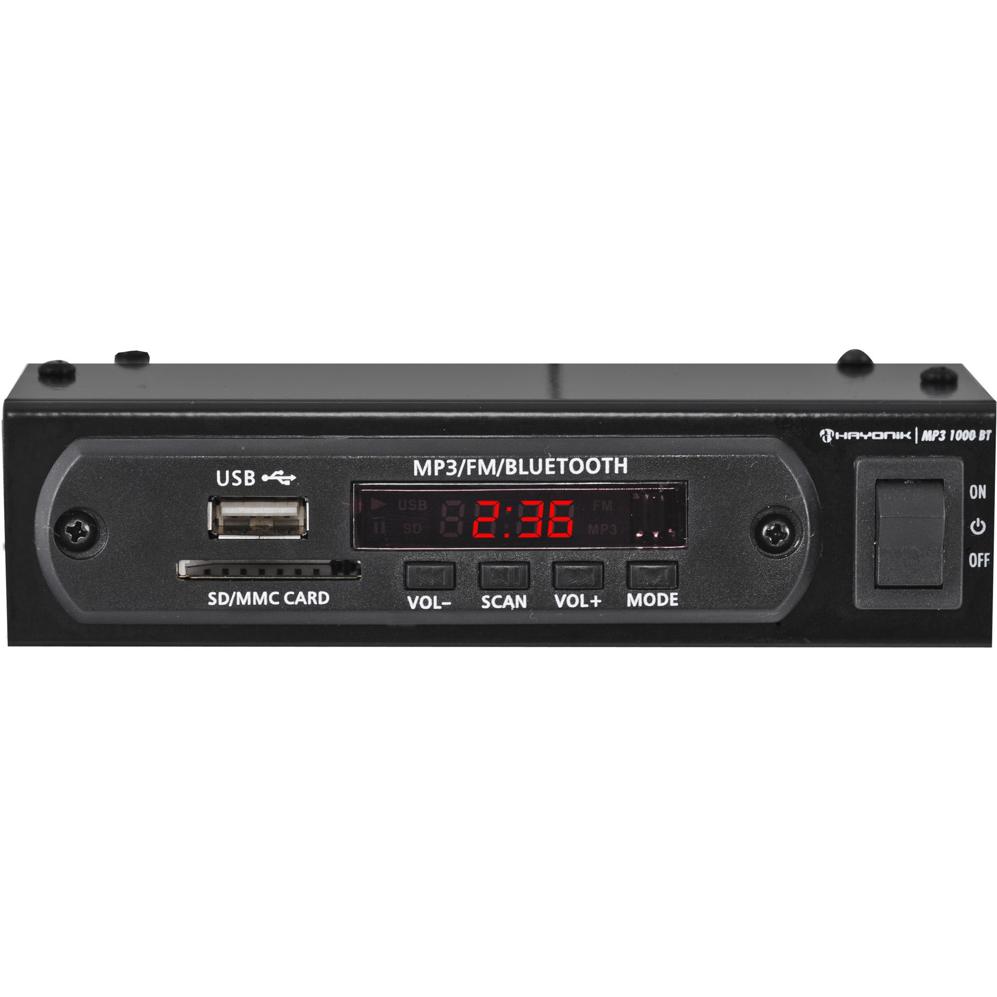 MODULO PRE USB-MP3/BLUETOOTH/FM
