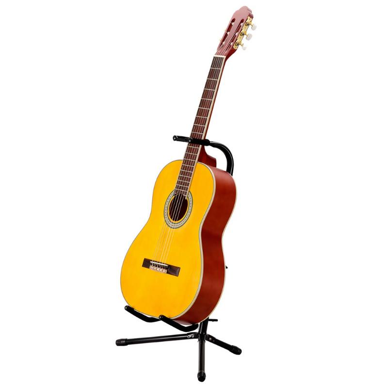 Suporte instrumento de cordas Violão/Guitarra/Contrabaixo Si300 com Trava de proteção