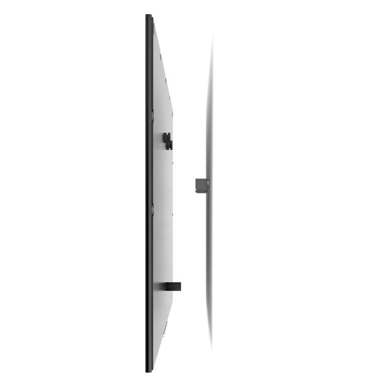 Suporte Tv Lcd Multivisão M1-Pr fixo de parede serve para TODAS as TVs de tela fina de 14 a 84 Instalado, a TV fica 3,5cm distante da parede