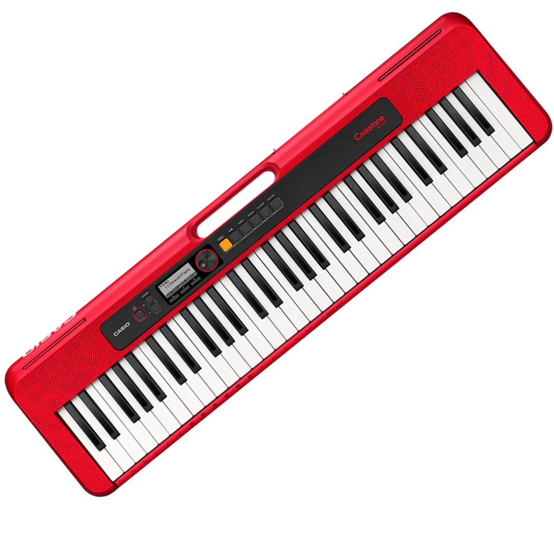 Teclado Casio Ct-S200Bkc2 Vermelho