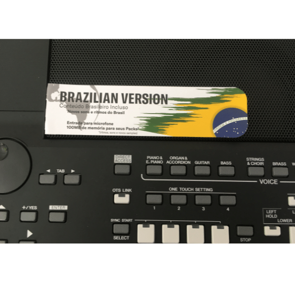 Teclado Yamaha Psr-Sx600-Bra