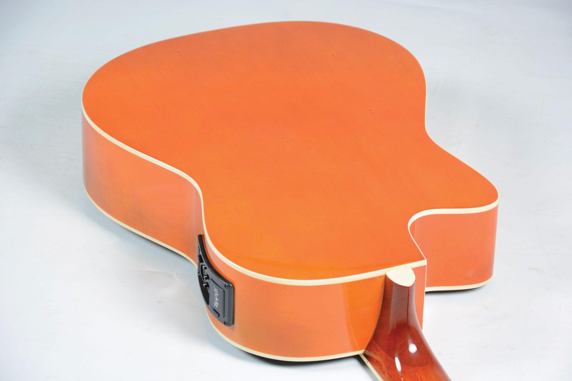 Violao Class Clc39C Eletrico Nylon Sunbust