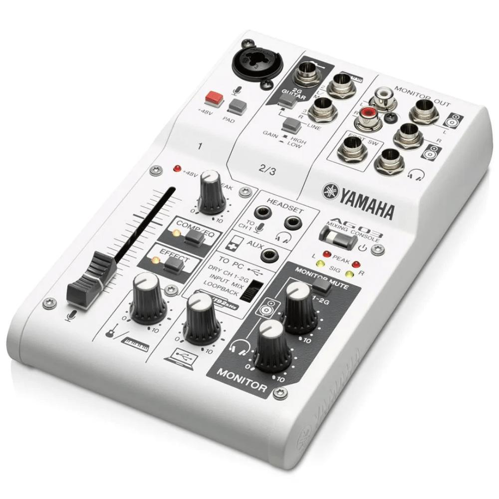 Yamaha Ag03 Mixer E Interface De Áudio