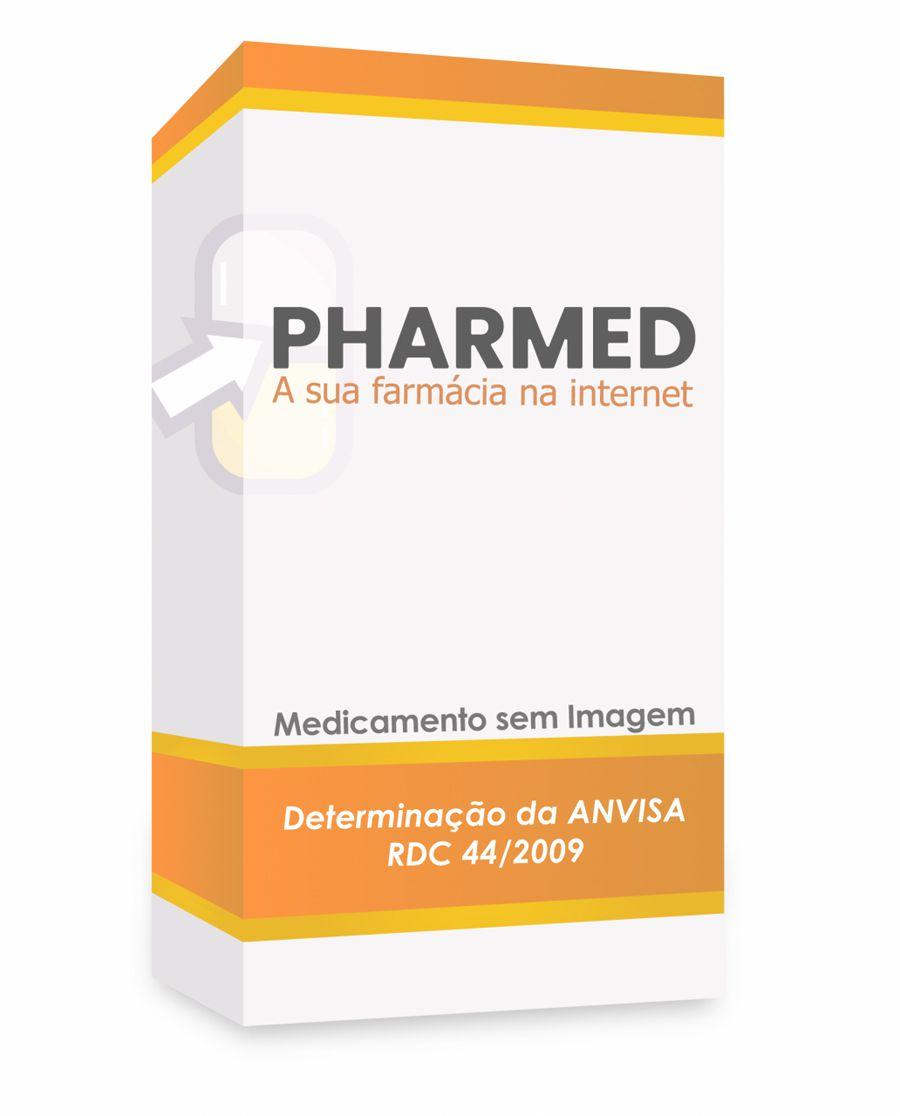 Faslodex 250mg/5mL, caixa com 2 seringas preenchidas com 5mL de solução de uso intramuscular + 2 agulhas