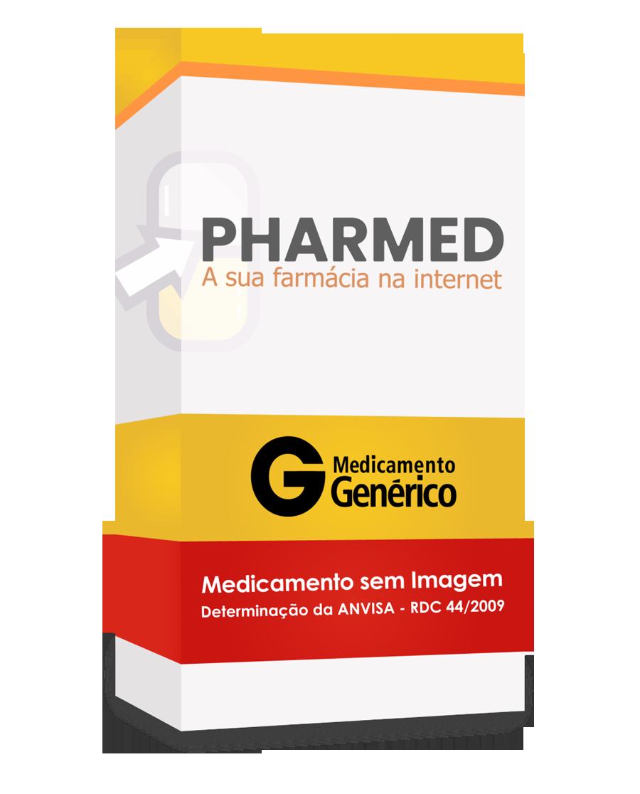 Temozolomida Sun Pharma 100mg, caixa com 5 cápsulas gelatinosas duras